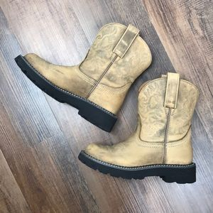 Ariat FatBaby Western Boots Size 6.5B